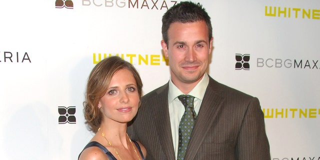 Sarah Michelle Gellar and Freddie Prinze Jr have co-starred together many times. (Photo by Michael Loccisano/FilmMagic)