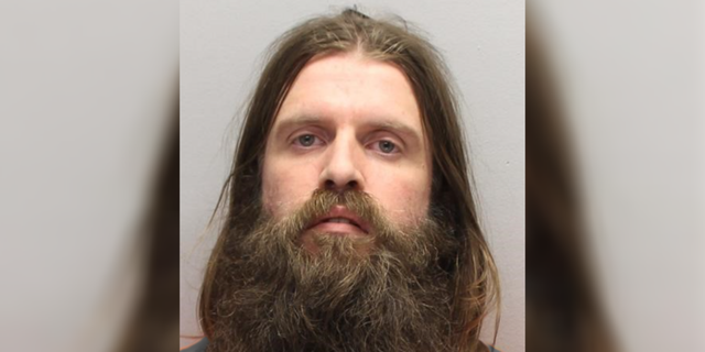 Shawn Massey, 38, of Gibbsboro, was charged with stabbing and beating another man to death at a campground last month. (Camden County Prosecutor's Office)