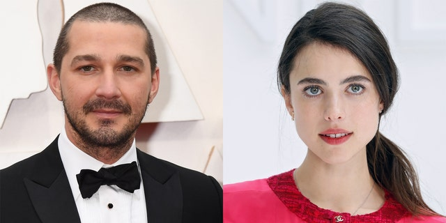 Shia LaBeouf (sinistra) and Margaret Qualley (destra) have split up amid the 'Transformer' star's ongoing alleged abuse scandal.