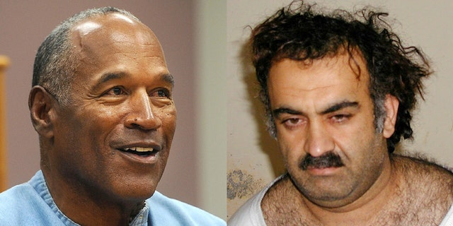 O.J. Simpson and 9/11 mastermindKhalid Sheikh Mohammed.
