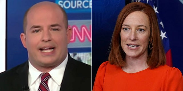 CNN's Brian Stelter conducted a widely panned interview with White House press secretary Jen Psaki on Sunday.