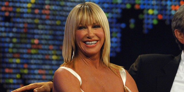 Suzanne Somers said she was a guest on Larry King's show a number of times. (Photo by Michael Caulfield/WireImage)