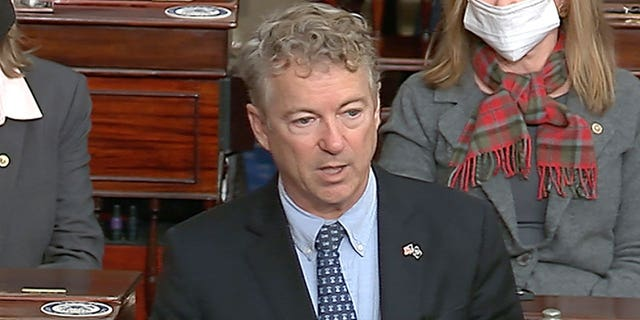 Rand Paul declares Trump impeachment 'dead on arrival' after Senate procedural vote