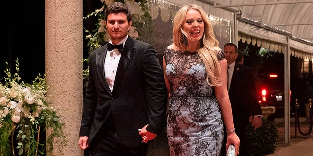 Tiffany Trump announced her engagement to Michael Boulos on Tuesday (JIM WATSON/AFP via Getty Images)