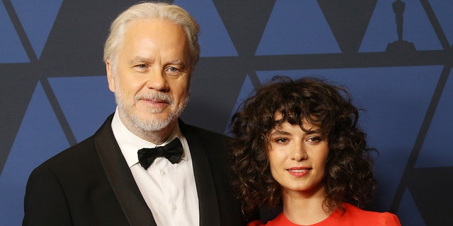 Tim Robbins has filed for divorce from Gratiela Brancusi according to multiple reports after marrying in secret. (Photo by Michael Tran/FilmMagic)