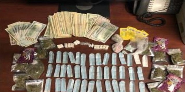 The suspects left the drugs in a rental car they had returned, sê die polisie. (Albany County Sheriff's Office)
