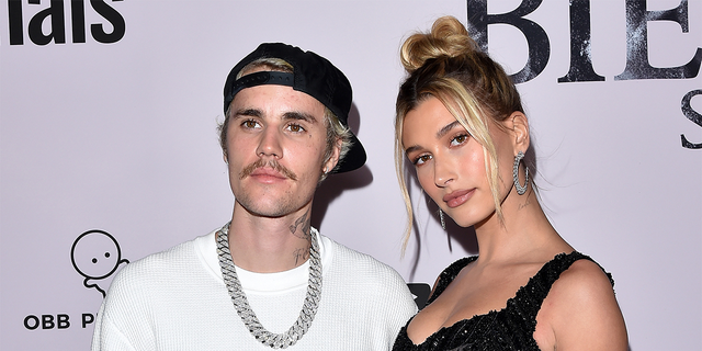 Baldwin revealed that husband Justin Bieber has helped in coping with the stress of fame.