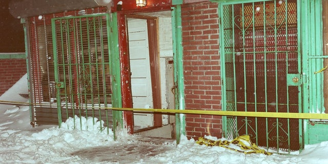 The social club in Boston on the night of the shootings, Jan. 12, 1991. (FBI)