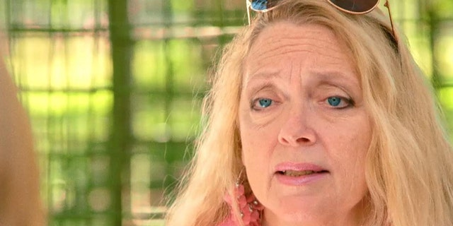 Carole Baskin claims her feud with Joe Exotic was fabricated by Netflix.