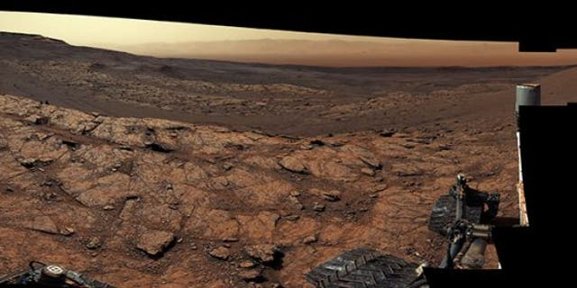 This panorama, made up of 122 individual images stitched together, was taken by NASA's Curiosity Mars rover on November 18, 2020, the 2,946th Martian day, or sol, of the mission. Credits: NASA/JPL-Caltech/MSSS