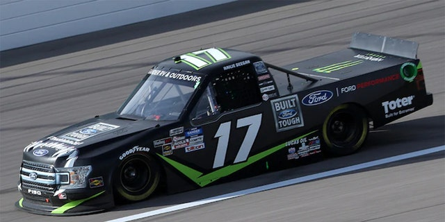 Deegan competed in one truck series race in 2020 for DGR-Crosley, finishing 16th at Kansas Speedway.