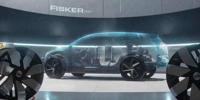 Il Fisker Ocean sarà costruito su una piattaforma progettata da Magna.