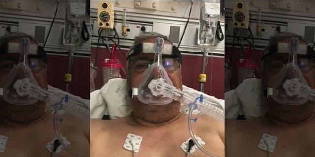 Jose Avellaneda in the hospital. (Courtesy of Avellaneda family via Fox 11)