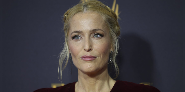 Gillian Anderson, who stars as the late Margaret Thatcher in Netflix's 'The Crown,' appeared on 'Late Night with Seth Meyers' to discuss the show as well as a funny dance video from the cast that was 'never meant to see the light of day.'