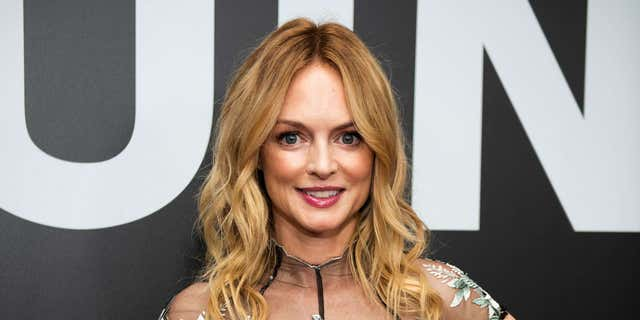 Heather Graham took to Instagram on Sunday to share a photo of herself rocking an animal print bikini.