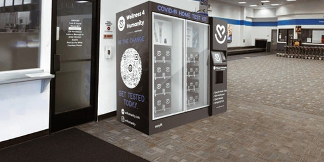 Vending machine with COVID-19 home tests coming to NYC this month.