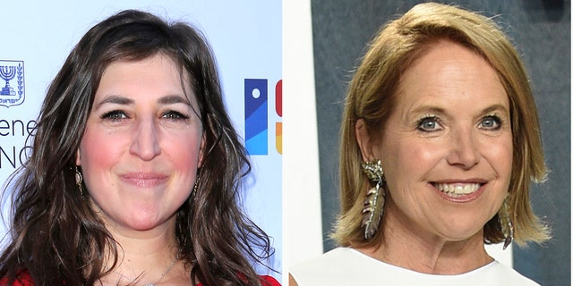 """Jeopardy!"" has tapped several stars to fill in as guest host until a permanent replacement is named, including Mayim Bialik, left, and Katie Couric. (Associated Press)"