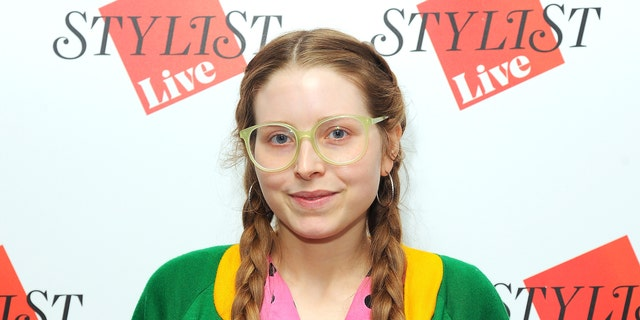 Jessie Cave's newborn child is recovering from the coronavirus at home.