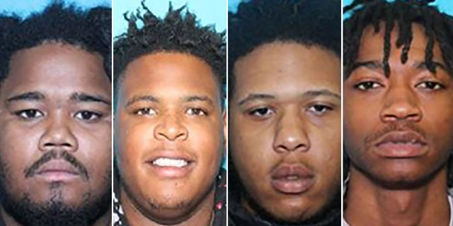 Ralik Robinson, 22, Trevathann Myquan Shearin, 20, Shantron Avondre Person, 20, and Deluntae Jaequon Squire, 23, were all charged with murder, authorities said.