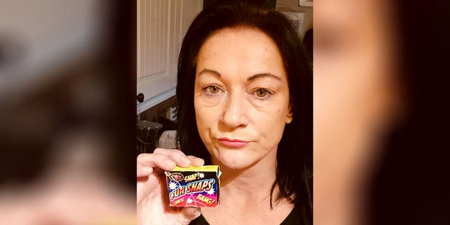 Lisa Boothroyd says she bought a box of Fun Snaps from a local store, where it was stored near various candy items.