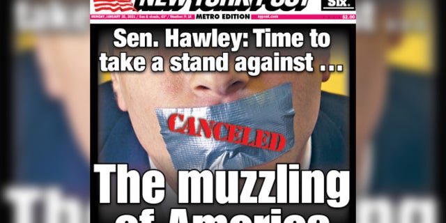 Sen. Josh Hawley, R-Mo., says that it now is the time to stand up to cancel culture.