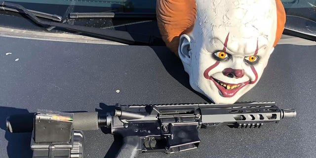 California driver arrested after 'fully loaded AR-15,' 'It' clown mask found in car, police say 45