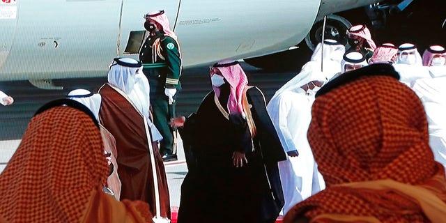 निवर्तमान ट्रम्प प्रशासन और साथी खाड़ी राज्य कुवैत द्वारा संकट का अंत करने के लिए कूटनीतिक सफलता एक अंतिम धक्का है।  (एपी फोटो / अमृत नबील)