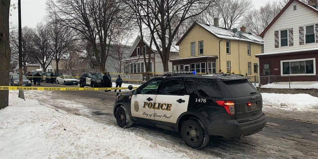 St. Paul police say a shooting in the city's Payne-Phalen neighborhood left three people dead Saturday afternoon.