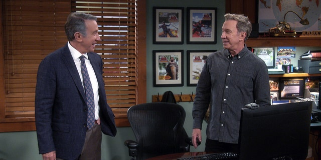 Tim Allen (playing dual roles) on 'Last Man Standing.'
