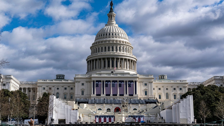 US Capitol Biden Inauguration AP