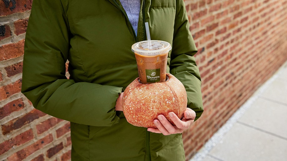 Panera 'solves' dilemma for iced coffee drinkers with wintry Bread Bowl Hand Warmer