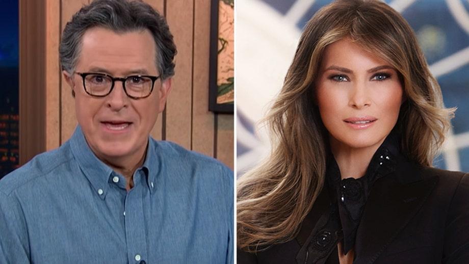 Stephen Colbert, 'The Late Show' give Melania Trump a 'F--- You' sendoff