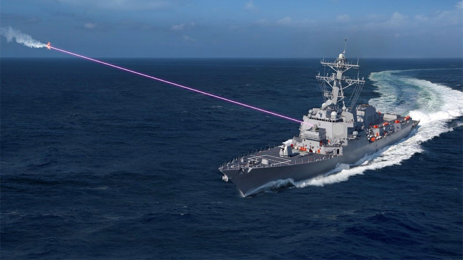 New Navy destroyer-fired laser will change maritime war