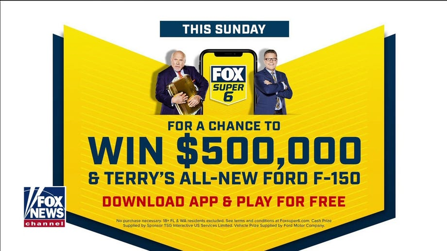 Terry Bradshaw offering up $500,000 and a new Ford F-150 truck in Sunday's FOX Bet Super 6