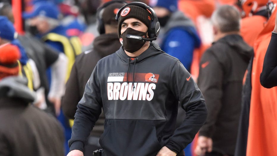 Browns coach Kevin Stefanki, 2 players test positive for coronavirus ahead of historic playoff game