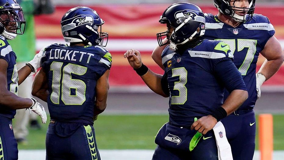 Wilson, Lockett help Seahawks rally for 26-23 win over 49ers