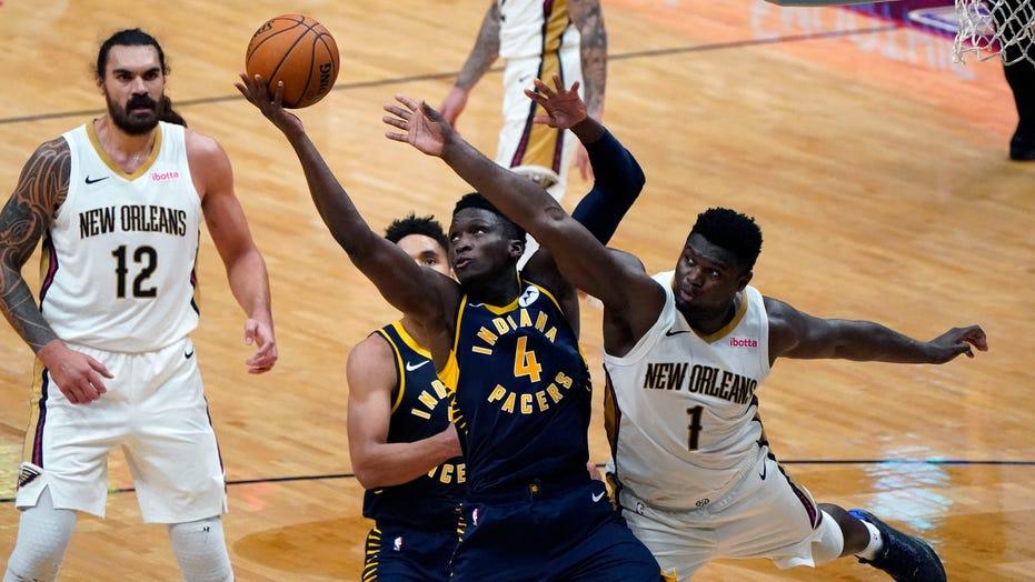 Brogdon hits OT winner as Pacers top Pelicans 118-116
