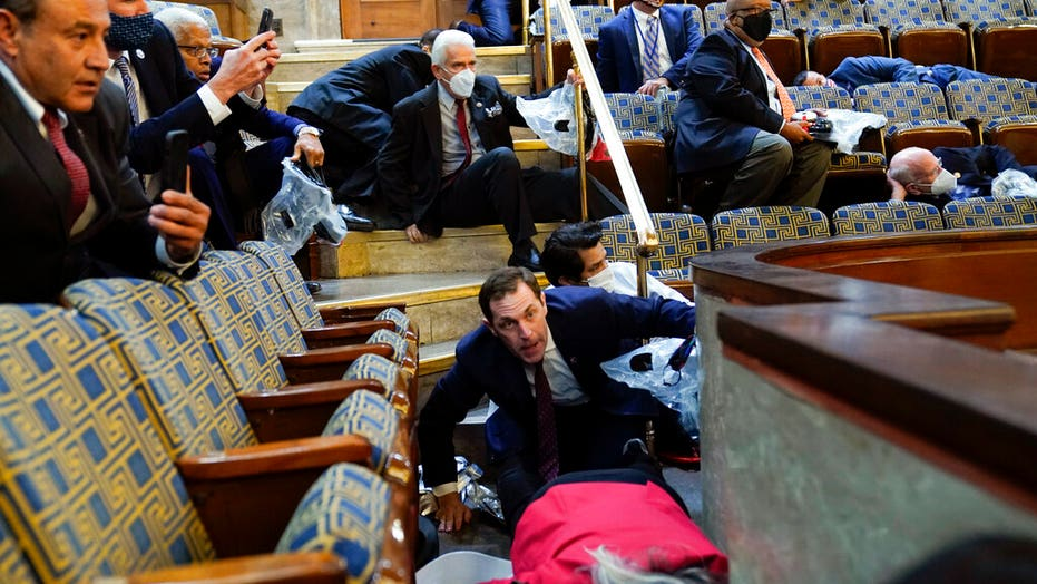 Lawmakers, aides and others sheltering inside Capitol describe chaos