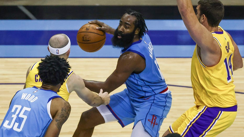 James Harden says Rockets just can't be fixed: 'We're just not good enough'