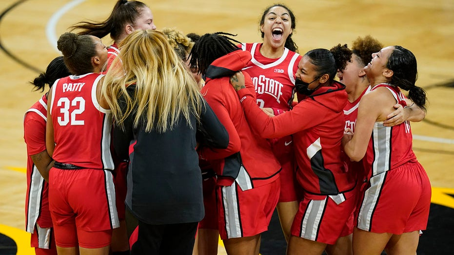No. 15 Ohio St women snap Iowa's 42-game home winning streak