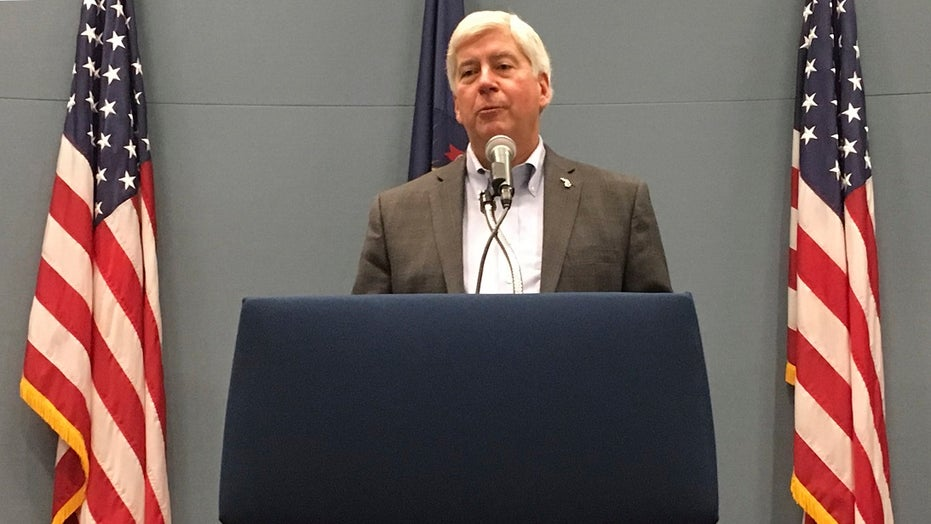 Ex.-Michigan Gov. Snyder charged in Flint water crisis