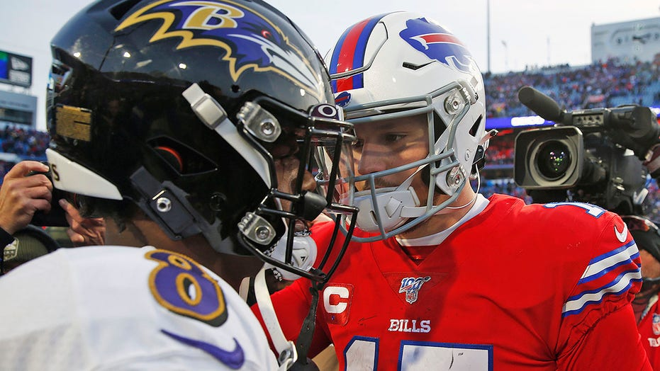 Allen, Jackson set for playoff showdown as Bills host Ravens