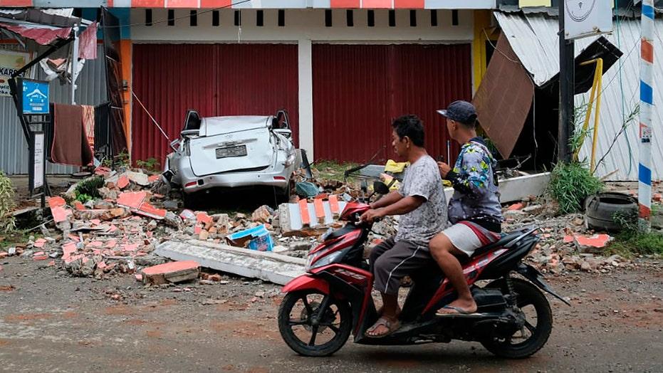 At least 34 dead in Indonesia quake