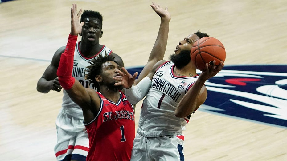 St. John's upsets No. 23 UConn 74-70 as teams renew rivalry