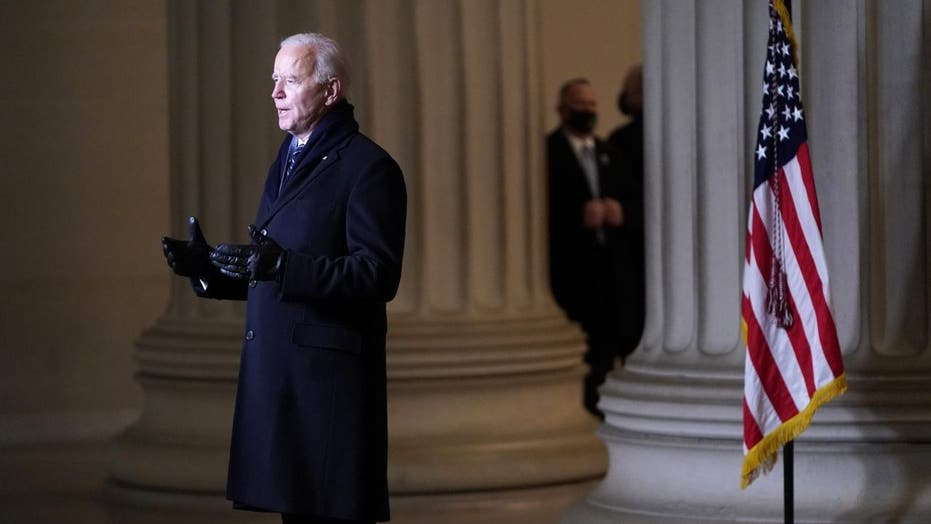 Biden has 'bigger issues' to worry about than following own mask mandate: Psaki