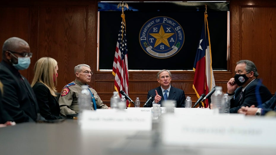 Gov. Greg Abbott says Texas 'a law-and-order state,' calls defunding police 'reckless'