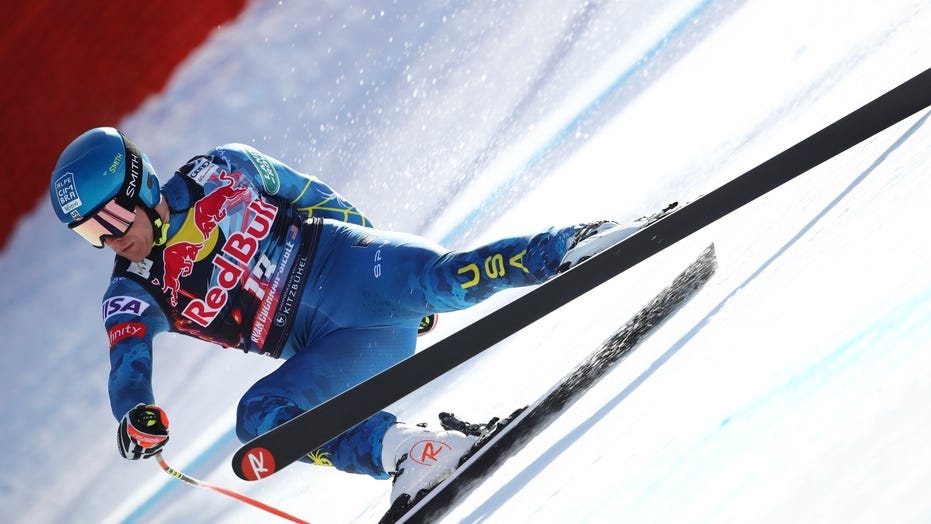 Cochran-Siegle eyes return to skiing after breaking his neck