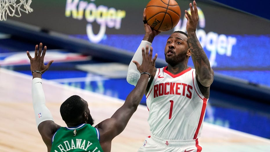 Gordon, Cousins help Rockets cruise past Mavericks, 133-108