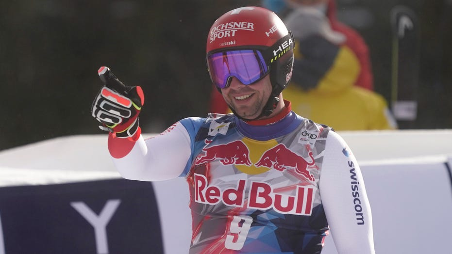Swiss skier Beat Feuz wins 2nd Kitzbühel downhill in 3 days