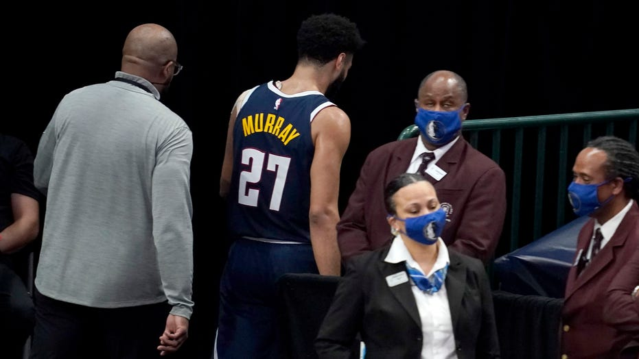 Nuggets' Jamal Murray ejected after hitting Mavericks' Tim Hardaway in groin area